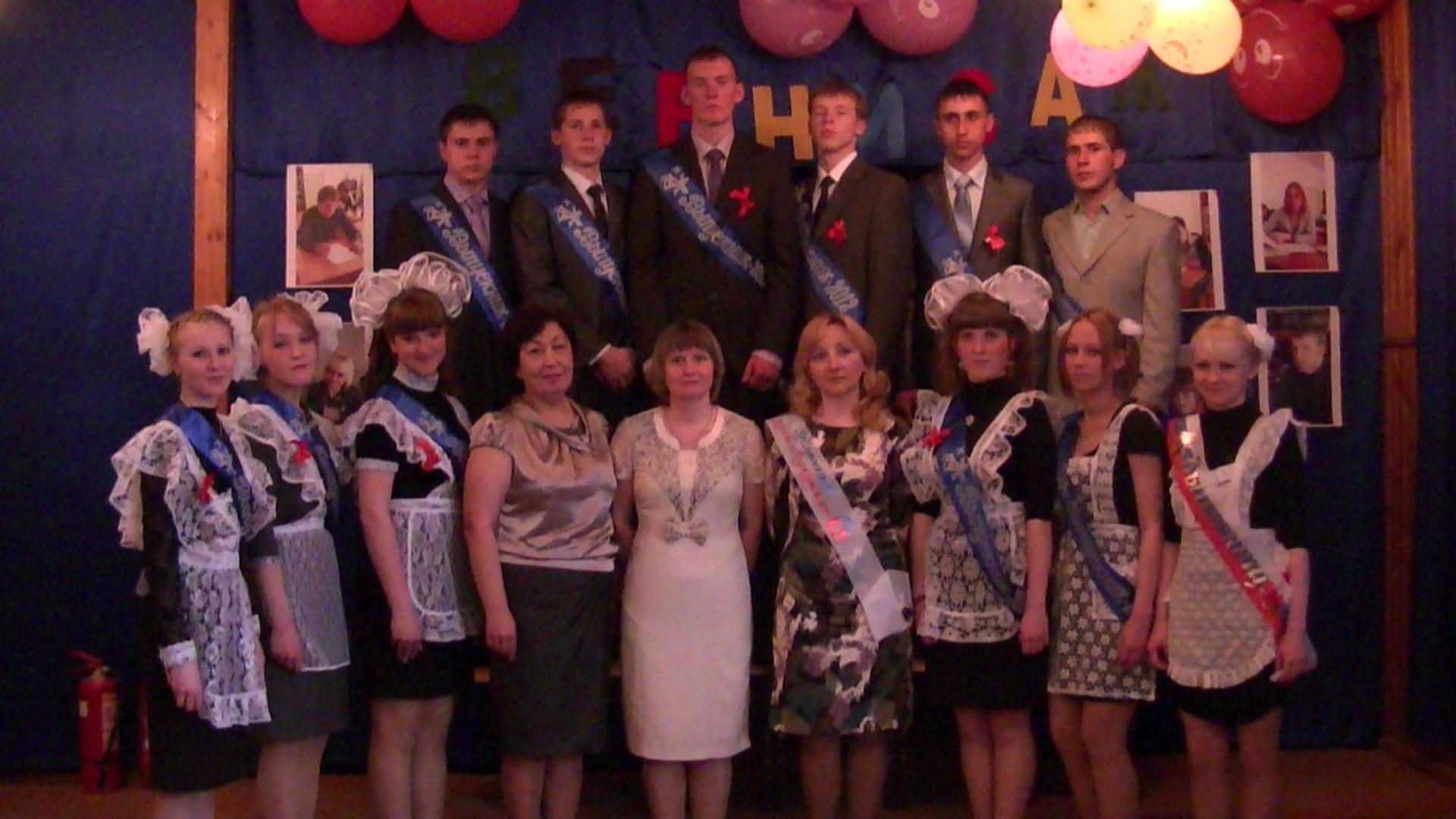 выпускники 2012